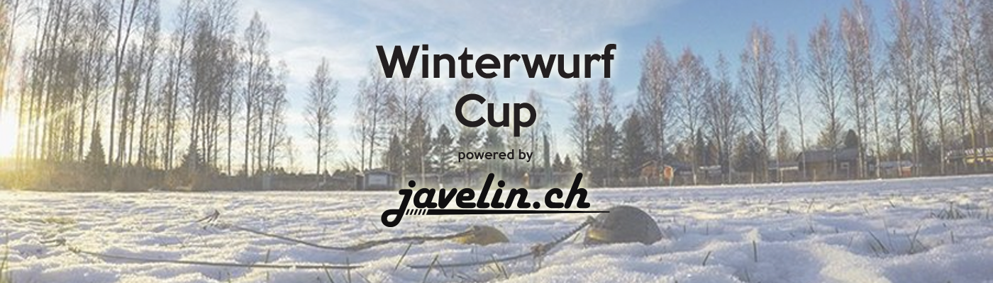 Winterwurf Cup powered by javelin.ch
